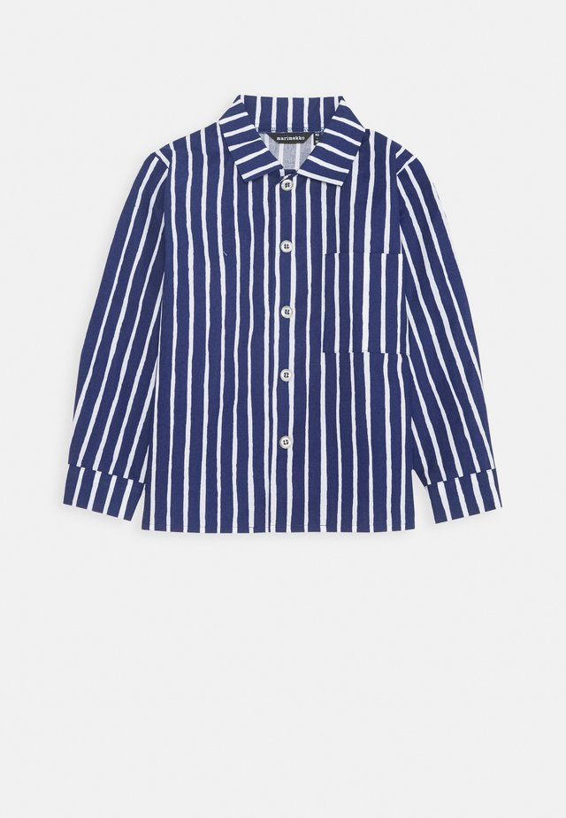 PIKKUPOJANPAITA - Camicia - dark blue/white