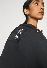 Nike Sportswear - HOODIE - Sweatshirt - black/white - 3