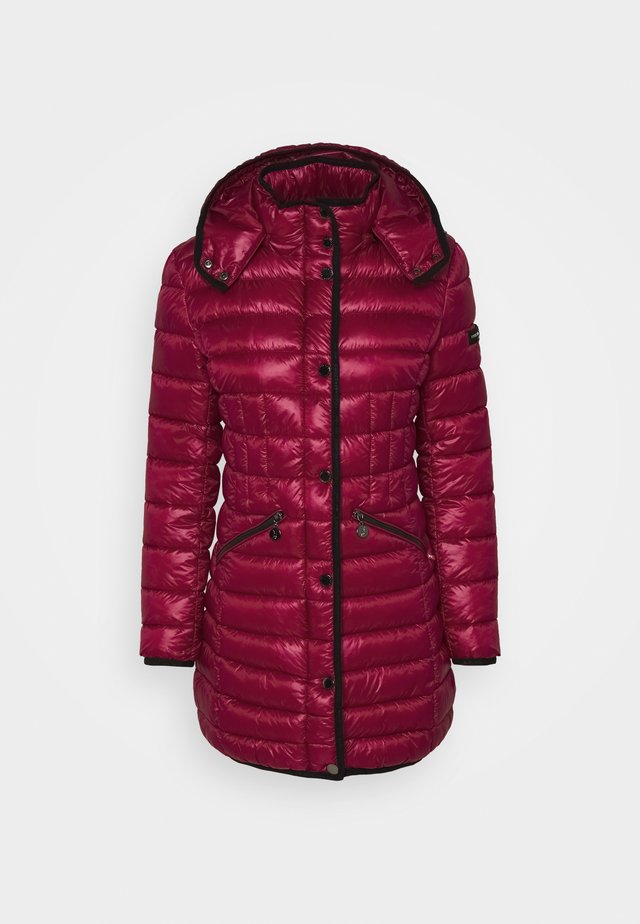Winter coat - pink pepper