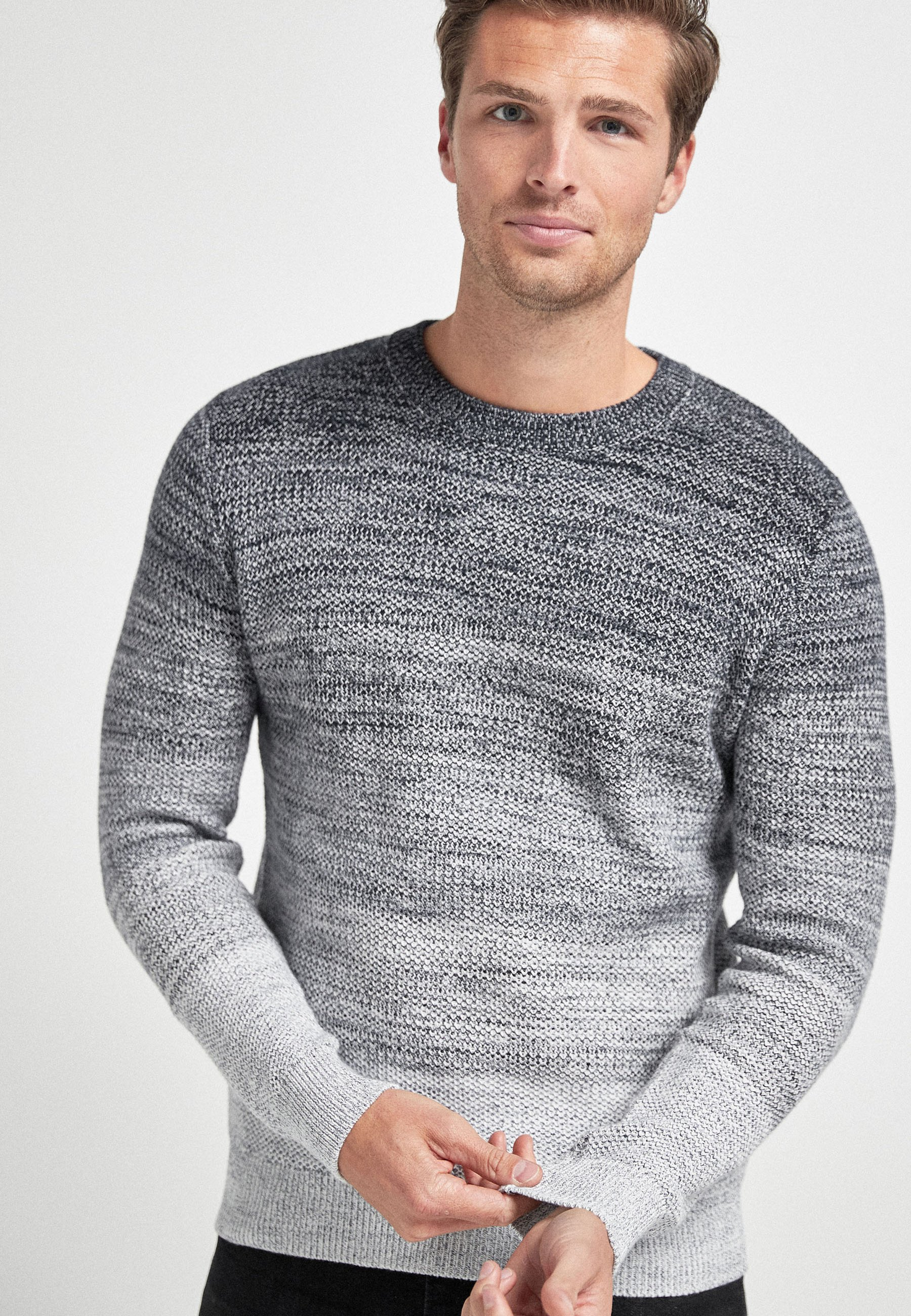Homme OMBRE COLOURBLOCK - Pullover