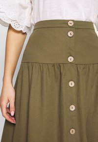 Object - OBJTHELMA SKIRT - A-Linien-Rock - burnt olive - 4