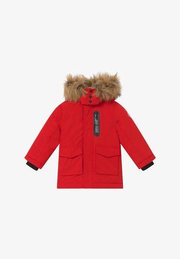 Winter coat - deep red