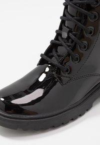 Geox - CASEY GIRL - Veterboots - black - 5