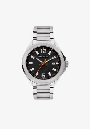 ESSENTIALS  - Watch - schwarz-silber