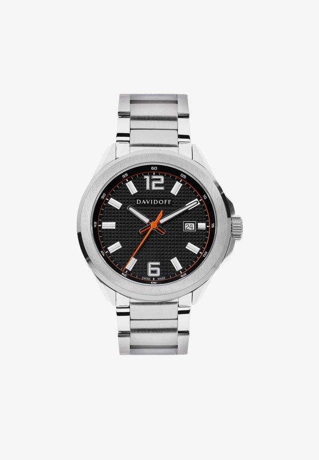 ESSENTIALS  - Horloge - schwarz-silber