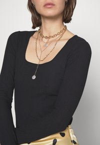 Carin Wester - RINA - Bluzka z długim rękawem - black - 5
