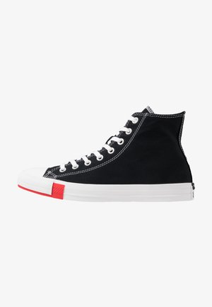CHUCK TAYLOR ALL STAR - Korkeavartiset tennarit - black/university red/amarillo