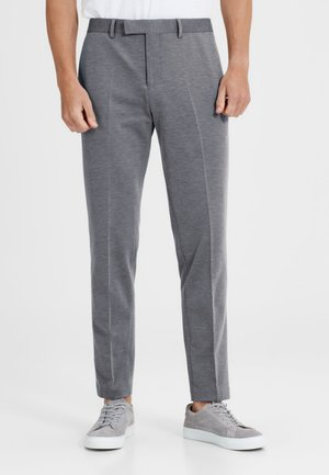 Suit trousers - light grey melange