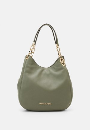LILLIE CHAIN TOTESMALL - Kabelka - army green