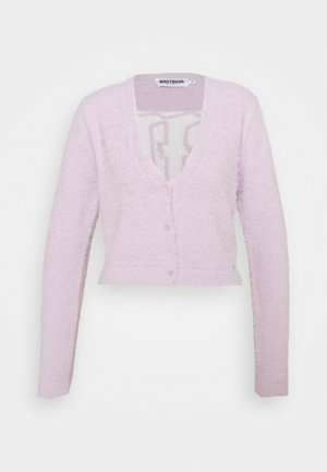JAMIE KNIT PASTEL PURPLE WOMEN - Cardigan - pastel purple