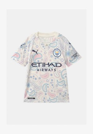 MANCHESTER CITY THIRD REPLICA UNISEX - Klubtrøjer - whisper white/peacoat