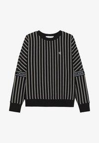 Calvin Klein Jeans - STRIPE LOGO TAPE - Sweatshirt - black - 2