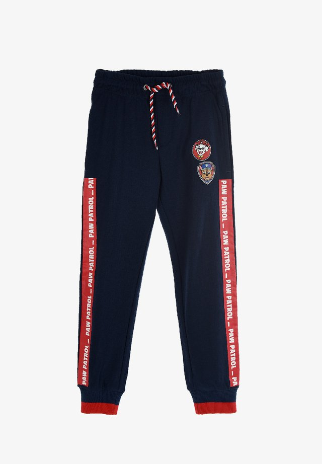 KINDER  - Tracksuit bottoms - dunkel-blau
