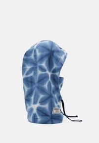 Burton - BURKE HOOD - Beanie - blue dailola shibori - 2