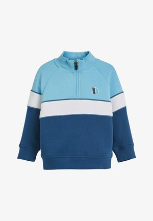BLUE FUNNEL NECK CREW AND JOGGERS SET (3MTHS-7YRS) - Sudadera - blue