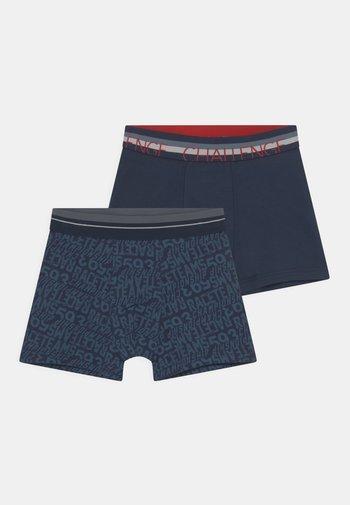 2 PACK - Pants - navy