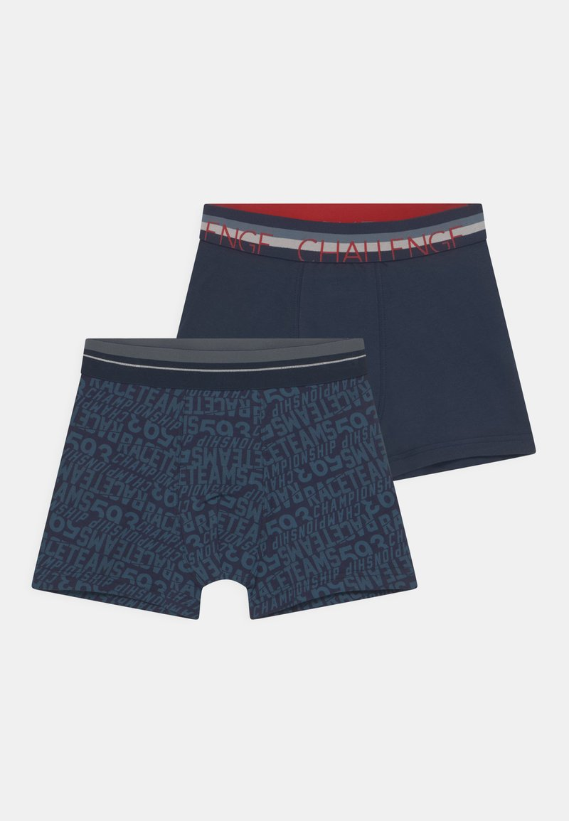 Sanetta - 2 PACK - Pants - navy