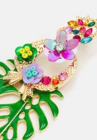 Fire & Glory - FGPALM EARRINGS - Boucles d'oreilles - gold-coloured/multi - 2