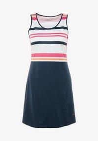 Fila - DRESS AUDREY - Sportovní šaty - peacoat blue/fuchsia purple - 3