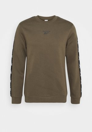 TAPE CREW - Sweatshirt - army green
