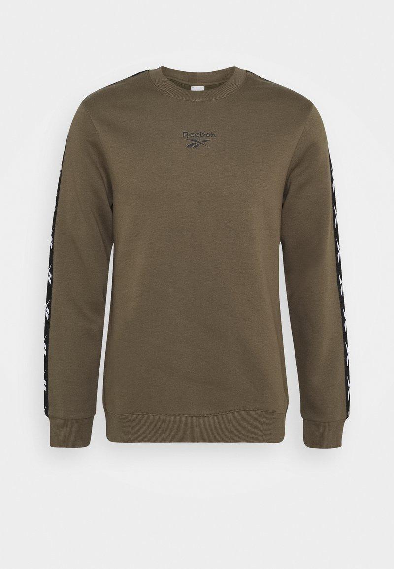 Reebok - TAPE CREW - Sweatshirt - army green