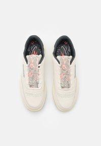 Reebok Classic - CLUB C 85 UNISEX - Sneakers basse - white/pale yelllow - 3