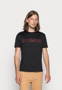 Diesel - UMLT-JAKE - T-shirt print - black - 0