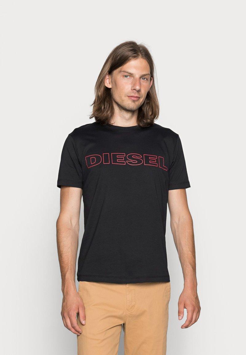 Diesel - UMLT-JAKE - T-shirt print - black