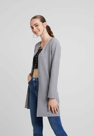 Chaqueta de punto - medium grey melange