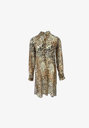 LEO COLLAR LEO ANIMAL - Gebreide jurk - beige