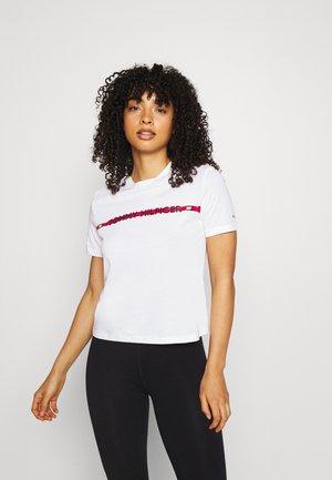 NATURE TECH TEE - Pyjamashirt - white