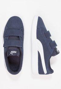 Puma - SMASH - Sneakers basse - peacoat/white - 0