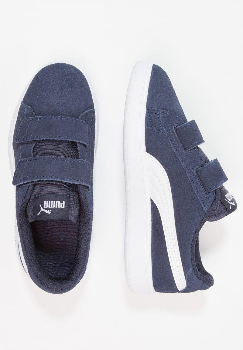 Puma - SMASH - Sneakers basse - peacoat/white