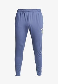 FC PANT  - Tracksuit bottoms - diffused blue/white