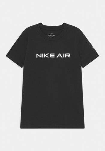 AIR - Print T-shirt - black