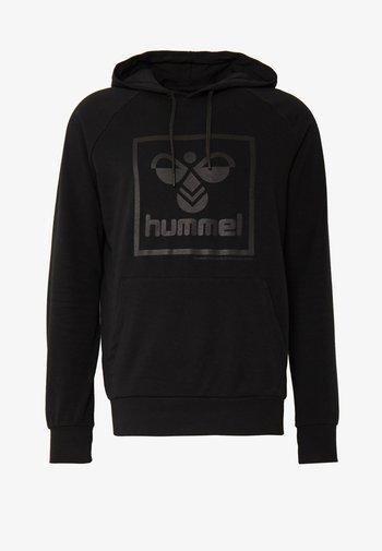 HMLISAM HOODIE - Hættetrøjer - black