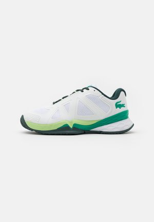 LC SCALE II - Chaussures de tennis toutes surfaces - white/green