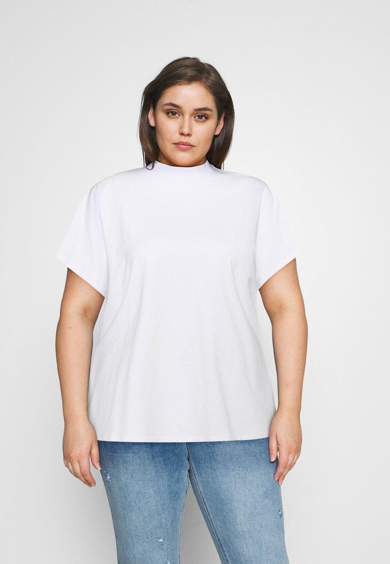 Noisy May Curve - NMHAILEY - Jednoduché triko - bright white
