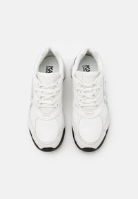 KARL LAGERFELD - VOLT LOGO LO LACE - Trainers - white/silver - 3