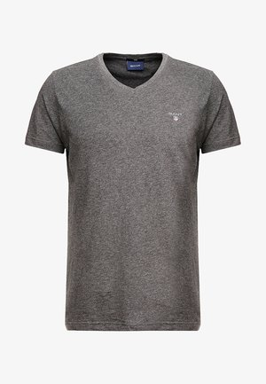 THE ORIGINAL  SLIM FIT - T-shirt basic - anthracite