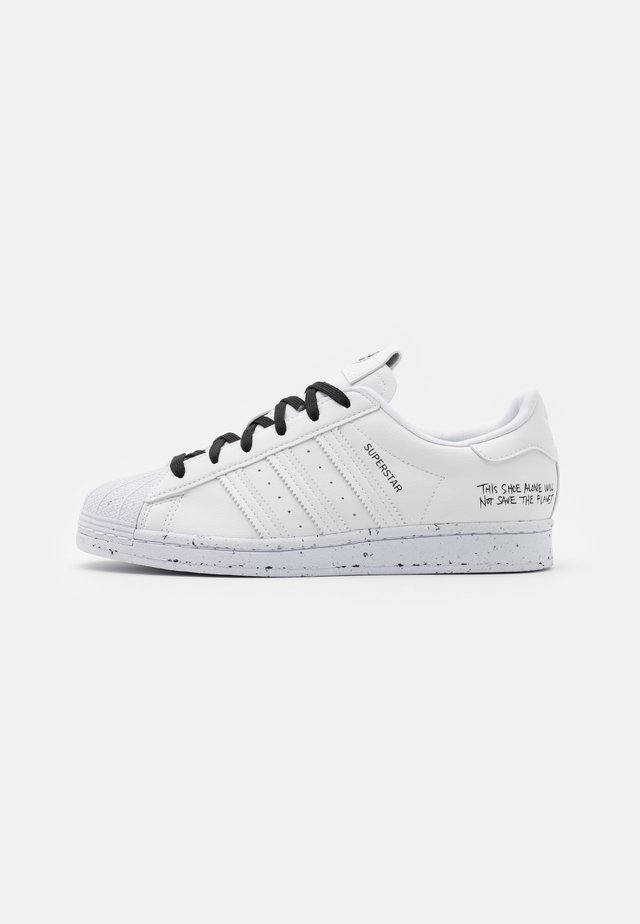 SUPERSTAR UNISEX - Baskets basses - footwear white/core black
