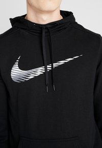 Nike Performance - DRY HOODIE - Jersey con capucha - black - 5