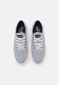 Clae - AUGUST - Sneakersy niskie - navy/white/denim - 3