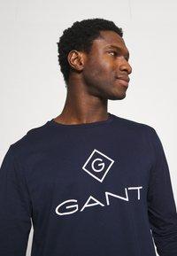 GANT - LOCK UP - Long sleeved top - evening blue - 3
