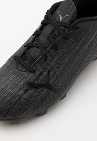 Puma - ULTRA 4.1 FG/AG JR UNISEX - Moulded stud football boots - black - 5