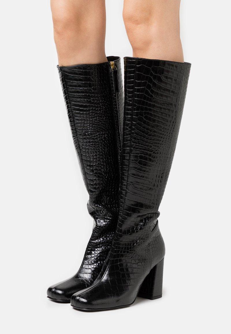 TWINSET - STIVALE TACCO ALTO - High heeled boots - nero