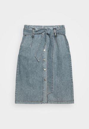 BONNIE SKIRT - A-line skirt - light vintage wash