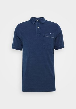 Polo shirt - faded indigo