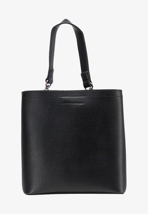 WHITE LABEL - Across body bag - black