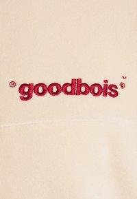 GOODBOIS - OFFICIAL HALFZIP  - Felpa in pile - beige - 2